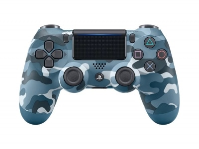 Sony PlayStation 4 DualShock 4 V2 wireless controller blue camo