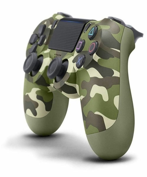 Sony PlayStation 4 DualShock 4 V2 wireless controller summary green camo