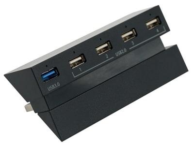 PS4 5 Port USB Hub front