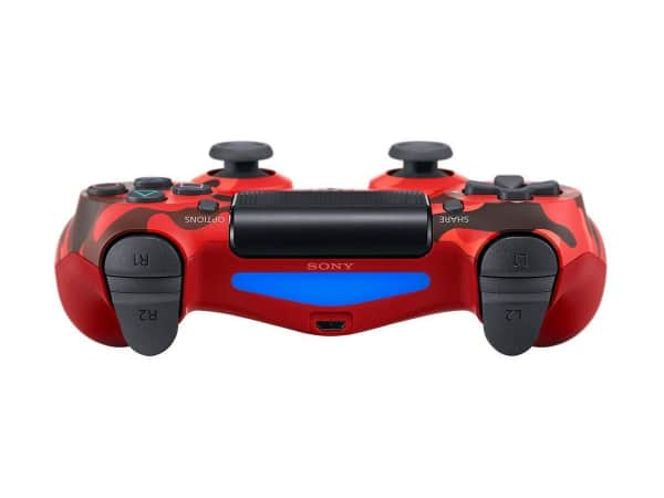 Sony PlayStation 4 DualShock 4 V2 wireless controller top red camo
